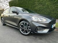 2019 Ford Focus 1.0 EcoBoost 125 ST-Line X 5dr HATCHBACK Petrol Manual