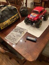 Tamiya Vintage Hump Backed Monster Beetle, Battery, Radio Control , Beatties Bag