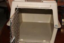 Pet carrier, plastic 21x14x14