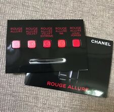 Newest Chanel ROUGE ALLURE Velvet Ink Liquid Powder Lipstick Sample 5 shades