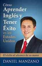 Libro de Daniel Manzano, Cómo Aprender Inglés  con audios.