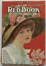 Rare Antique June, 1912 Red Book Magazine Highly Regarded Popular Literary Pulp