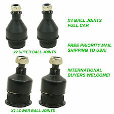 RAISED STOCK LOWER BALL JOINTS x2 UPPER & x2 LOWER VW BUGGY BUG GHIA BAJA BEETLE
