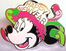 Disney Pin MINNIE Happy New Year 2009 Mini LE Set FREE SHIPPING AFTER 1ST PIN!!