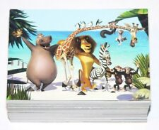 . Disney Madagascar. Complete 72 card set by Comic Images in 2005.