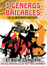 VARIOUS ARTISTS - 3 GENEROS BAILABLES NEW DVD