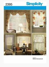 Simplicity 2395  Window Treatments