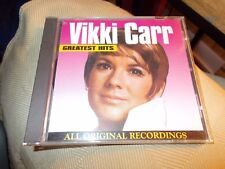 VIKKI CARR GREATEST HITS CD