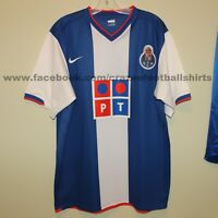 vintage PORTO 2006-07 home football shirt Nike XL Portugal Telecom soccer jersey