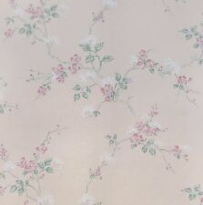 Trailing Pink Dogwood Blossoms Wallpaper Double Roll Bolts 100% paper