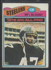 1977 Topps Mel Blount Pittsburgh Steelers 1976 AFC All Pro #180 Football L279