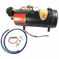 12V Air Compressor Truck Pickup On Board Air Horn 125psi With 3 Liter Tank