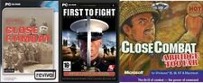 close combat a bridge to far & first to fight & invasion normandy