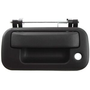 New Tailgate Handle Textured Black w/ Keyhole for 04-14 Ford F150 08-16 F250