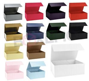 Magnetic Gift Box, Matt Finish Box For Hampers, Keepsakes, Gifts, Various Sizes