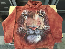 Big Face Saber Tooth Tiger Hoddie by Mountain / Adult Small