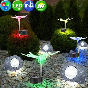 Solarbetriebene 20 LED Libelle Schnur Licht Garten Xmas Lampe Dekor Yard G3E9