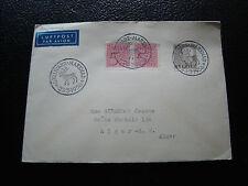 SUEDE - enveloppe 23/3/1956 (cy53) sweden