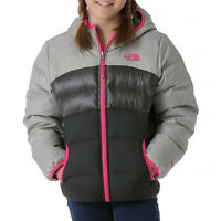 0d83636124 NWT The North Face New  149.00 Girls Reversible Moondoggy 550 Down Jacket  Size M