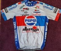 1989 Cycling Jersey Retro Road Pro Clothing MTB Short Sleeve Racing Bike DIY