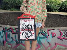 TIGER LIVING NEXT DOOR TO ALICE Henkel Tasche 70s TRUE VINTAGE bag Stofftasche