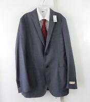 NEW BROOKS BROTHERS RED FLEECE jacket blazer sport coat gray stretch wool 40L