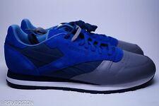 Reebok x Stash Classic Leather Low CL LTHR R12 Ultramarine Blue Grey 13 V54166