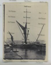 More details for royal navy photo cohen's shipbreaking yard east london thames sailing barge