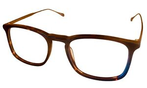 John Varvatos Eyeglasses Rectangle Mens Tortoise Eyewear Frame V207 54mm