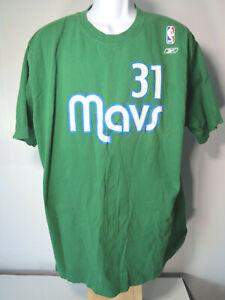 MAVS DALLAS MAVERICKS XL GREEN NBA Tyrell TERRY 31 TEE SHIRT basketball reebok