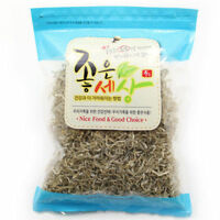 300g Dried JIRI Anchovies For Stir-Frying MADE IN KOREA Crunch Sweet Calcium_AC