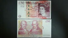 Great Britain England P-New 2015 50 Pound (Gem UNC) NEW SIGN!!!