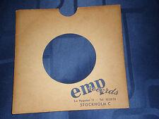 "EMP RECORDS (STOCKHOLM,SWEDEN) - BESPOKE RECORD SLEEVE FOR 7"" SINGLE - VG"