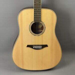Vintage V501 Dreadnought Acoustic Guitar in Satin Natural Left Handed 🎸
