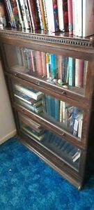 antique bookcase cabinet in great condition