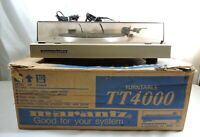 Marantz Direct-Drive TT4000 Semi Automatic Turntable As Is Plays Quiet & Whine