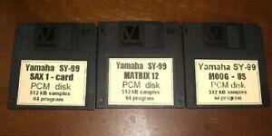 Yamaha SY-99        -  3 x Floppydisk