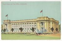 Court House and Post Office, INDIANAPOLIS IN Vintage Indiana Postcard