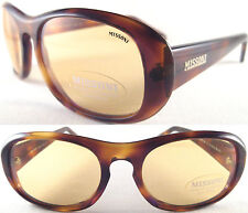 RARE & ELEGANT MISSONI ANTI-REFLEX LADIES SUNGLASSE,  ACETAT BROWN - SIZE S/M