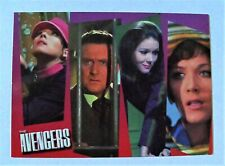 The Avengers Definitive Series 2 Trading Cards (Peel/Steed/Peel/King) Promo Card