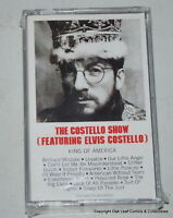 Elvis Costello The Show Cassette SEALED. See photo for play lists if visible