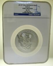 2015 P 10 OZ AUSTRALIA $10 KOALA EARLY RELEASE MS 70 NGC - BEST OFFER