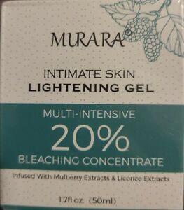 Murara Lightening Gel Intimate Skin Bleaching Cream 1.7 oz Exp 07/2022