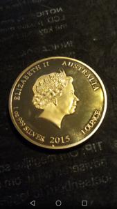 Goldene Münze Elisabeth  2015  /   1-Unze