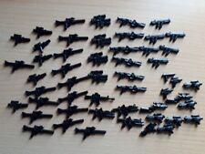 50 x custom Weapon Set blasters guns pistols rifles fits Lego Minifigs Star Wars