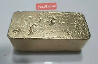 229 grams Scrap gold bar for Gold Recovery melted different computer coin pins