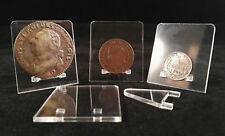 Lot de 15 présentoirs pour monnaies PRE26