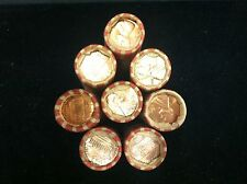 1968 D UNCIRCULATED  LINCOLN CENT UNOPENED BANK WRAPPED ROLL