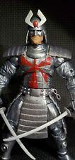 Custom Metallic Painted silver Samurai Marvel Legends Figure X-Men Vintage Wave