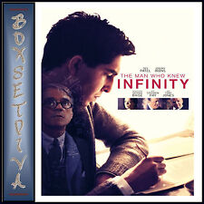 THE MAN WHO KNEW INFINITY -  Jeremy Irons *BRAND NEW DVD**